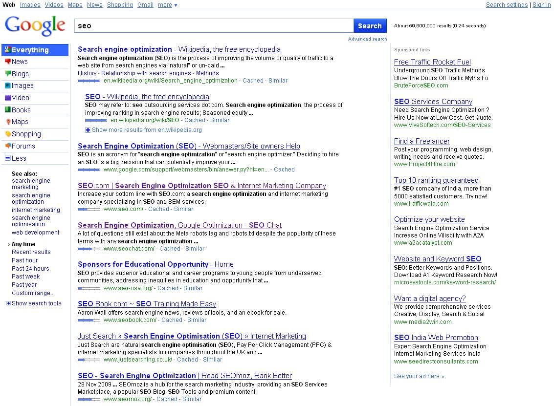 Google's new SERP user interface