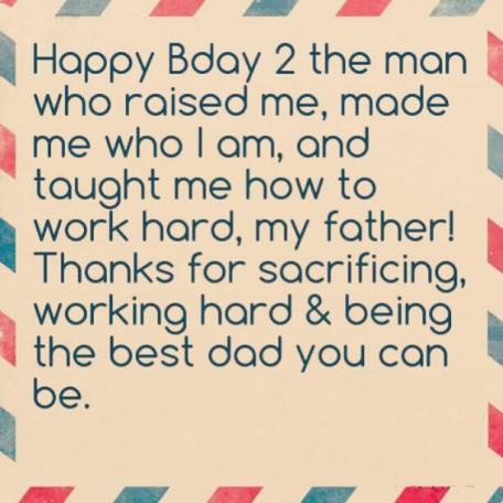 Happy Birthday Daddy :-)